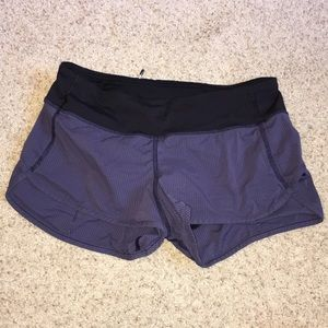 Purple/ grey Lululemon shorts